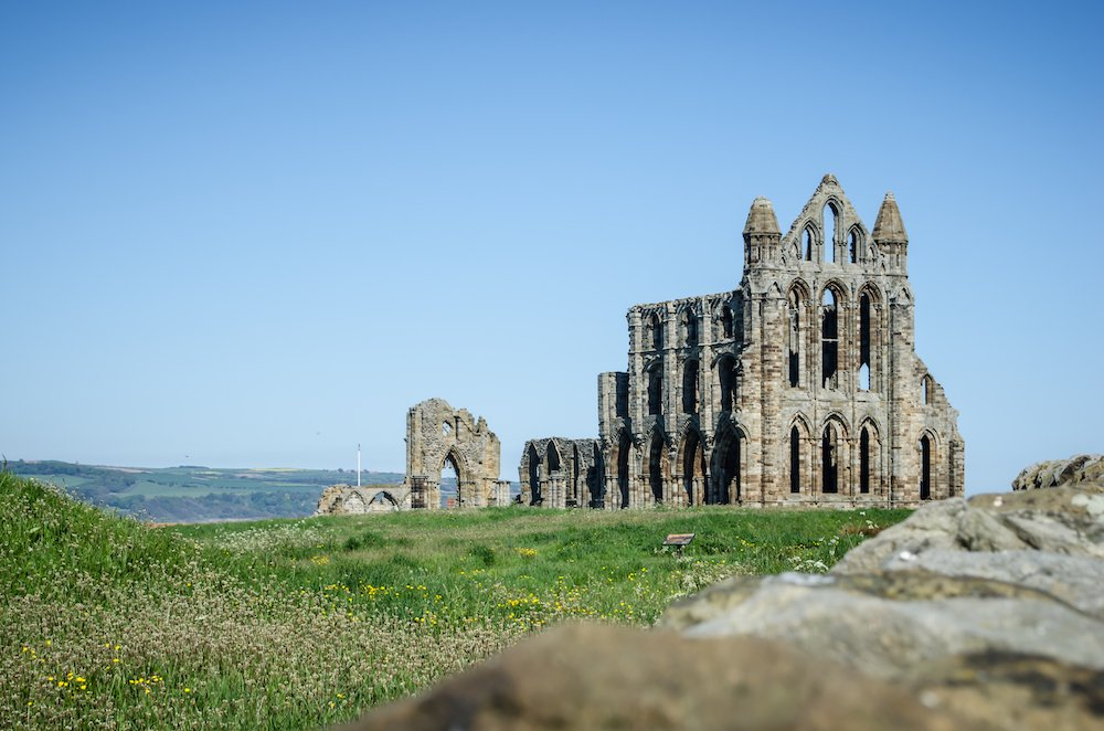 Whitby Abbey in June
