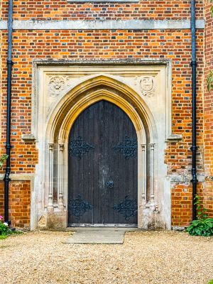 St John's Church Windlesham - doorway