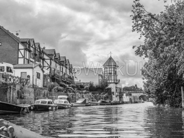 River Thames between Maidenhead and Bray. August 6 2019 - Photo Walk UK