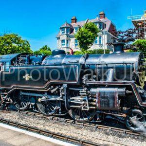 Swanage, England 3rd July 2011 Swanage Rail – Steam Engine - Photo Walk UK