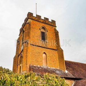 St Johns Red Brick Church Windlesham - Photo Walk UK