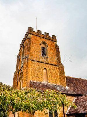 St Johns Red Brick Church Windlesham - Photo Walk UK