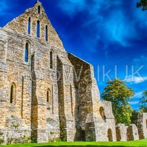 Battle Abbey Sussex UK. commemorates the Battle of Hastings 1066 - Photo Walk UK