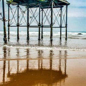 End of the pier – Saltburn, Cleveland UK - Photo Walk UK