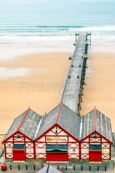 Pier at Saltburn - Photo Walk UK