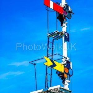 Railway signals - Photo Walk UK