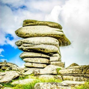 The Cheesewring stones, Minons, Cornwall, UK - Photo Walk UK