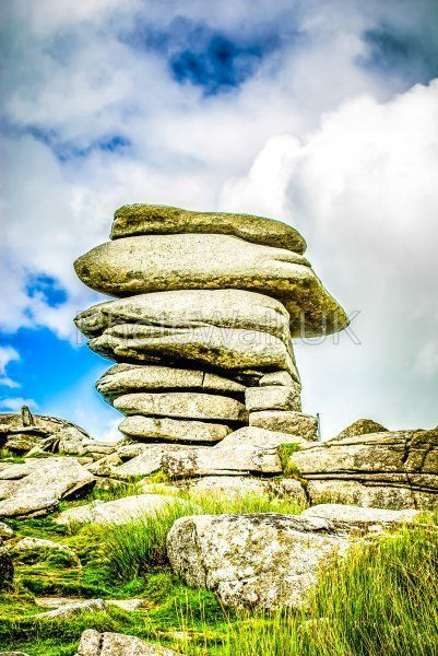 The Cheesewring stones, Minons, Cornwall, UK - Photo Walk UK
