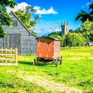 Village scene – Chawton Hampshire UK - Photo Walk UK