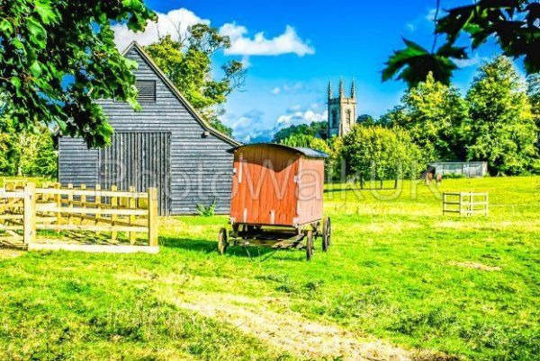 Village scene – Chawton Hampshire UK - Photo Walk UK