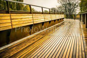 Wooden decked bridge - Photo Walk UK