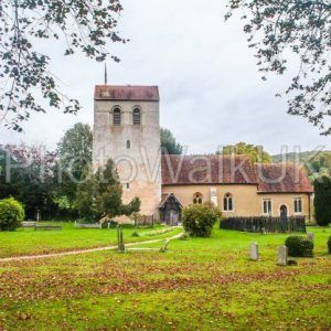 St Mary the Virgin Church and churchyard, Turville, Buckinghamshire, England, - Photo Walk UK