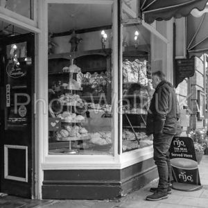 Woodhall Spa High Street in Monochrome - Photo Walk UK