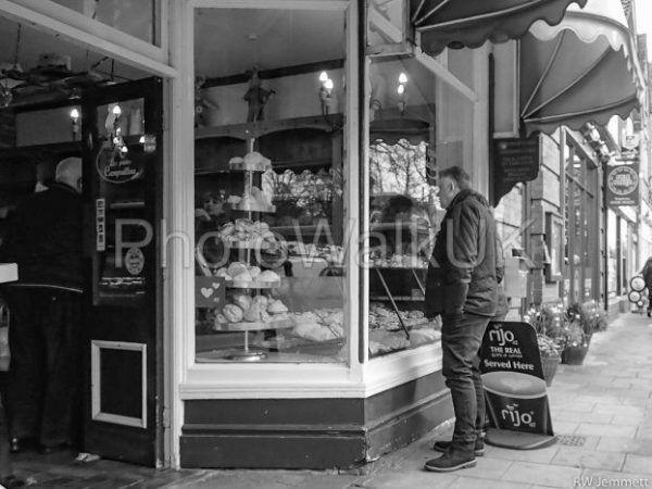 Woodhall Spa High Street in Monochrome - Photo Walk UK