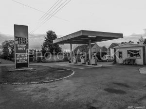 Woodhall Spa- Petrol Station - Photo Walk UK