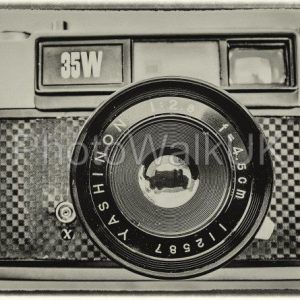 Yashica 35W Rangefinder Camera – Vintage Look - Photo Walk UK