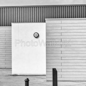 Yellow Wall –  Monochrome - Photo Walk UK