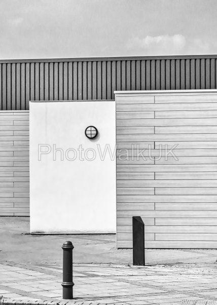 Yellow Wall –  Monochrome - Photo Walk UK