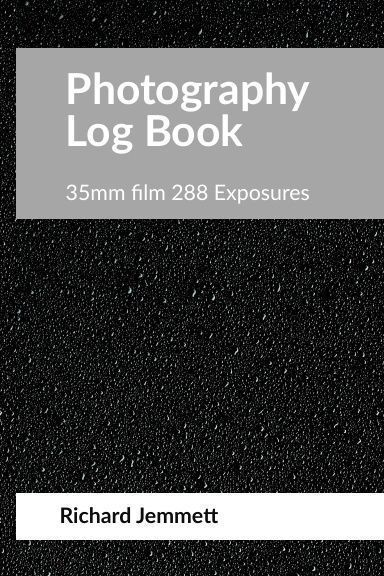 Photography Log Book