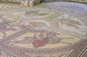 Roman Mosaic near Littlecote House Wiltshire - Photo Walk UK