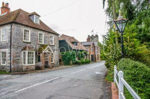 St Mary Bourne Village in Hampshire - Photo Walk UK
